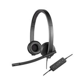 Logitech H570e hoofdtelefoon Stereofonisch Hoofdband Zwart