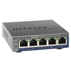 Netgear GS105PE Onbeheerde netwerkswitch L2 Gigabit Ethernet