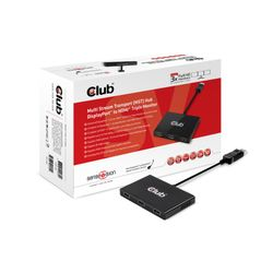 CLUB3D SenseVision MST Hub DP1.2 to HDMI™ Triple Monitor
