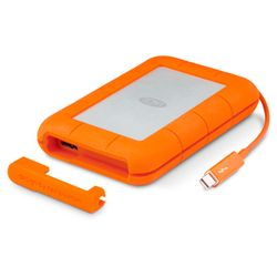 LaCie Rugged 250GB 250GB Grijs, Oranje-9000490