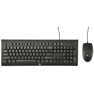 HP C2500 toetsenbord USB Zwart