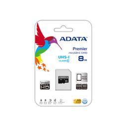 ADATA Premier microSDHC UHS-I U1 Class10 8GB 8GB MicroSDHC