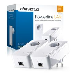 Devolo dLAN 1200+ 1200Mbit/s Ethernet LAN Wit 2stuk(s)