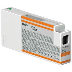 Epson inktpatroon Orange T636A00 UltraChrome HDR 700 ml