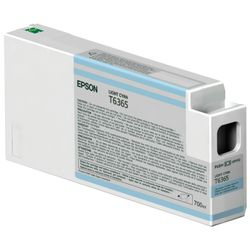 Epson inktpatroon Light Cyan T636500 UltraChrome HDR 700 ml