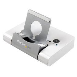 StarTech.com 3-poorts-USB 3.0-hub voor laptops en op Windows gebaseerde tablets plus een snellaadpoort en apparaatstandaard
