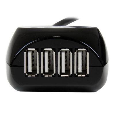 StarTech.com 15 m USB 2.0 actieve kabel met 4-poorts hub