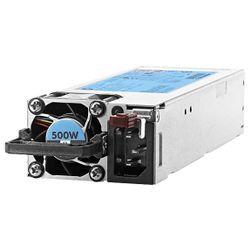 HPE 500W Flex Slot Platinum 500W Grijs power supply unit