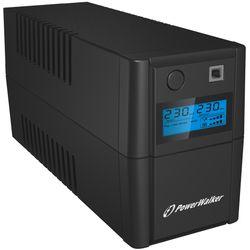 PowerWalker VI 850 SHL Schuko Line-Interactive 850VA