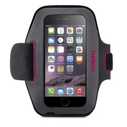 iPhone 6 Sport-Fit Armband Fuchsia