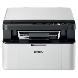 Brother DCP-1610W 2400 x 600DPI Laser A4 20ppm Wi-Fi Zwart, Wit multifunctional
