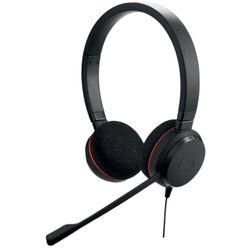 Jabra Evolve 20 MS Stereo Stereofonisch Hoofdband Zwart