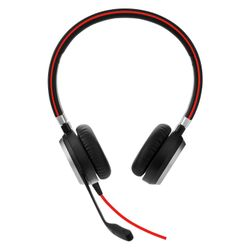 Jabra Evolve 40 MS Stereo Stereofonisch Hoofdband Zwart