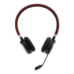 Jabra Evolve 65 MS Stereo Stereofonisch Hoofdband Zwart