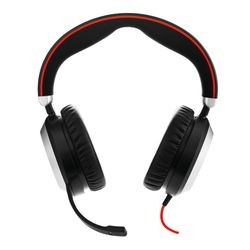 Jabra Evolve 80 MS Stereo Stereofonisch Hoofdband Zwart