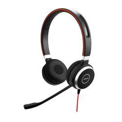 Jabra EVOLVE 40 Stereo Stereofonisch Hoofdband Zwart