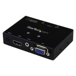 StarTech.com 2x1 VGA + HDMI naar VGA converter switch met