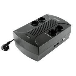 Gembird EG-UPS-001 650VA 4AC outlet(s) Compact Zwart UPS