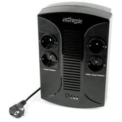 Gembird EG-UPS-002 850VA 4AC outlet(s) Compact Zwart UPS