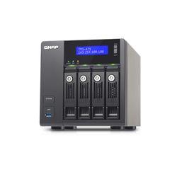QNAP TVS-471-I3-4G NAS Toren Ethernet LAN Zwart