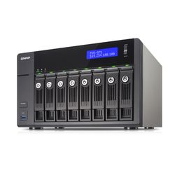 QNAP TVS-871 NAS Toren Ethernet LAN Zwart