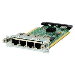HPE MSR 4-port Gig-T Switch SIC Module network switch module Gigabit Ethernet