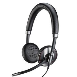 Plantronics C725 Headset Hoofdband Zwart