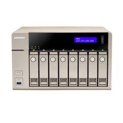 QNAP TVS-863+-16G NAS Toren Ethernet LAN Goud