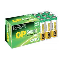 GP Batteries GP260DHB, Radio, D, Groen, Zilver, Blister