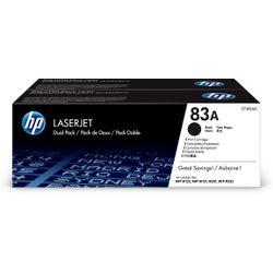 HP 83A originele zwarte LaserJet tonercartridge, 2-pack