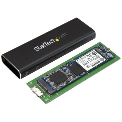StarTech.com M.2 naar SATA externe SSD-behuizing USB 3.0 met UASP externe behuizing