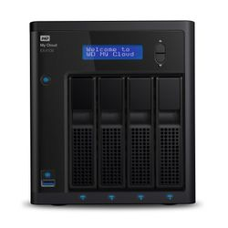 Western Digital My Cloud EX4100 8TB NAS Desktop Ethernet LAN Zwart-WDBWZE0080KBK-EESN