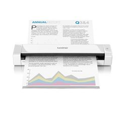 Brother DS-720D 600 x 600DPI A4 Wit scanner