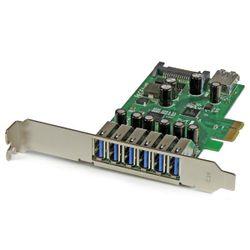 StarTech.com 7-poorts PCI Express USB 3.0 kaart standard en low-profile design