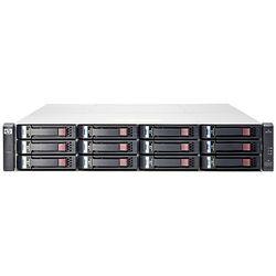 HPE MSA 1040 2-port SAS Dual Controller LFF Rack (2U) Zwart, Grijs disk array