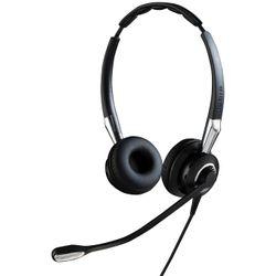 Jabra Biz 2400 II QD Duo NC Stereofonisch Hoofdband Zwart