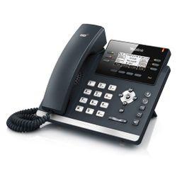 Yealink SIP-T41P Zwart Handset met snoer LCD IP telefoon