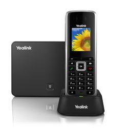 Yealink W52P IP telefoon Zwart Draadloze handset LCD