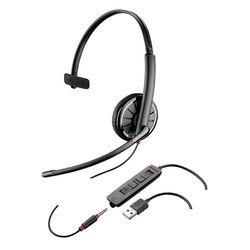 Plantronics C315-M Monauraal Hoofdband Zwart hoofdtelefoon