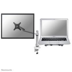 """Newstar FPMA-D300NOTEBOOK 27"""" Zilver flat panel bureau steun"""