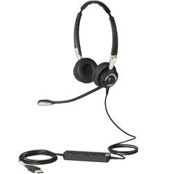 Jabra Biz 2400 II USB Duo CC Stereofonisch Hoofdband Zwart