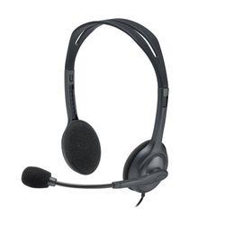Logitech H111 hoofdtelefoon Stereofonisch Hoofdband Grijs