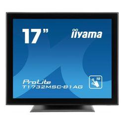 iiyama Dis 17 IIyama PL T1732MSC-B1AG TOUCH 5ms,VGA,DVI,Speaker,USB,5:4 (T1732MSC-B1AG)
