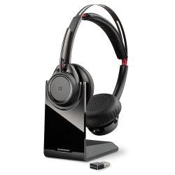 Plantronics Voyager Focus UC B825 Headset Hoofdband Zwart