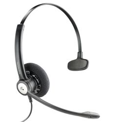 Plantronics Entera HW111N QD Headset Hoofdband Zwart