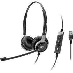 Sennheiser SC 660 USB ML Stereofonisch Hoofdband Zwart