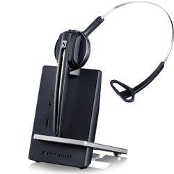 Sennheiser D 10 Phone Monauraal oorhaak, Hoofdband Zwart