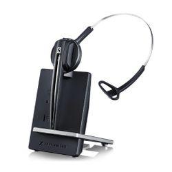 Sennheiser D10 USB ML Monauraal Hoofdband Zwart, Zilver