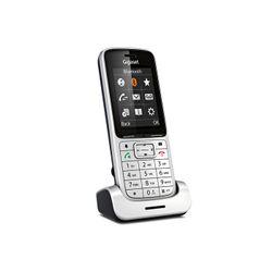 Gigaset SL450H Aluminium DECT telephone handset Zwart