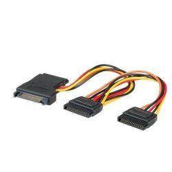 Adj ADJBL11031041 0.15m SATA Multi kleuren SATA-kabel